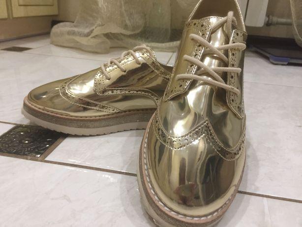 Zara туфли лоферы