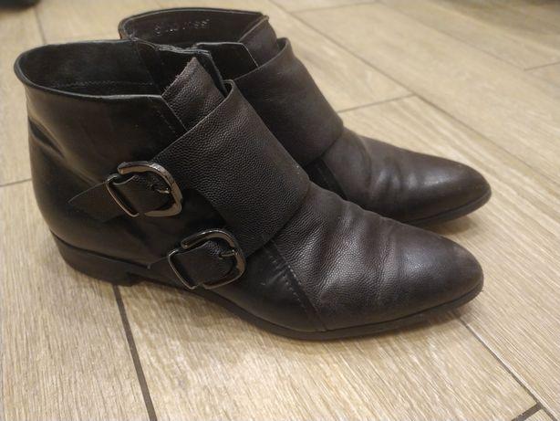 Gino Rossi buty półbuty botki 38 skóra