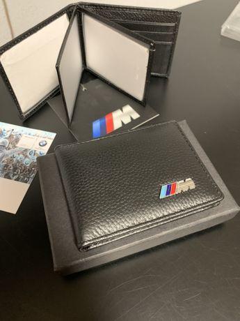 Стильный аксессуар BMW кошелёк, под карты, документы, подарок М5