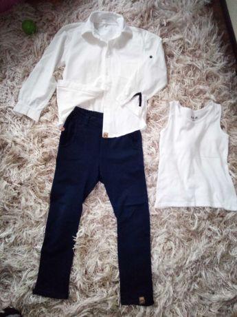 koszula i spodnie chłopięce Mumu + podkoszulka