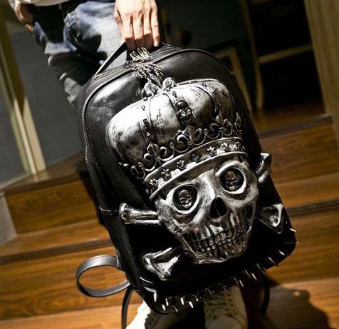 Рюкзак с черепом. Новый. Из США ( экокожа)