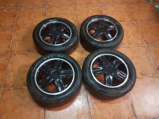 4 Jantes + pneus 195/50 r15 4*100