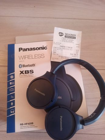 Słuchawki Panasonic Rb-hf420B