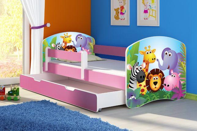 Łóżko, łóżeczko dziecięce Różowe 140X70