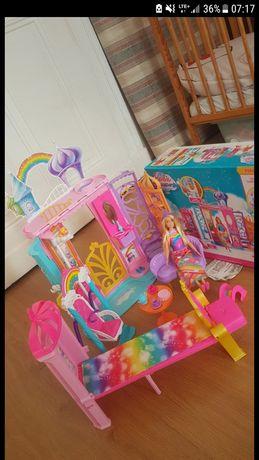 Barbie Tęczowy Pałac Mattel
