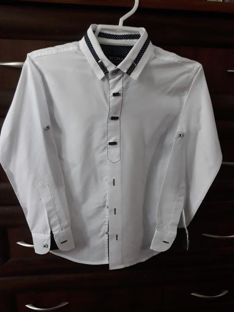 Продам рубашку для мальчика 7,8 лет