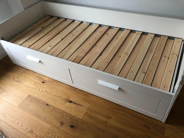 Łóżko rozkładane ikea brimnes