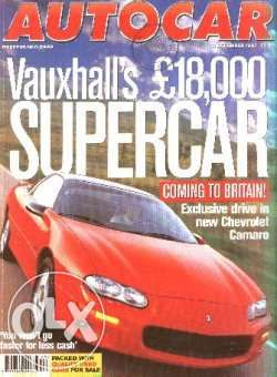 6 Revistas Autocar (inglesas)