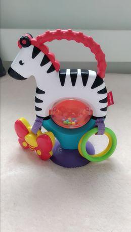 Nowa Zebra grzechotka Fischer Price