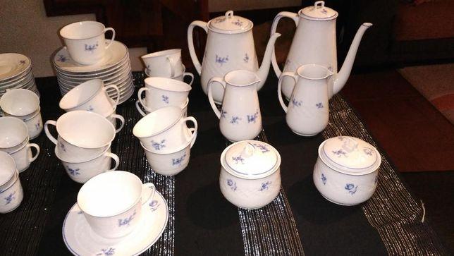 Conjunto de chá e Café - Vista Alegre 1824
