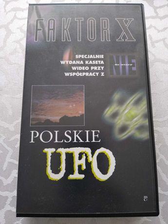 Polskie ufo (faktor x) - kasetę vhs sprzedam