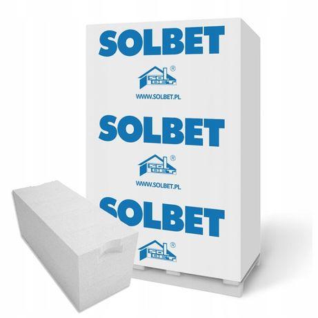 Pustak beton komórkowy Gazobeton 24x24x59P+W Solbet