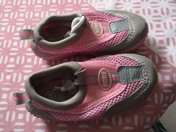 Buty do wody dla dziewczynki 24 różowe