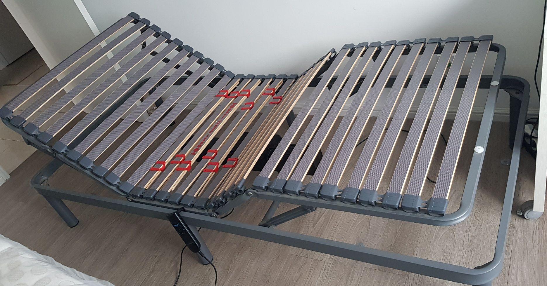 Cama Articulada Elétrica  + Colchão, novo, 200x90cm