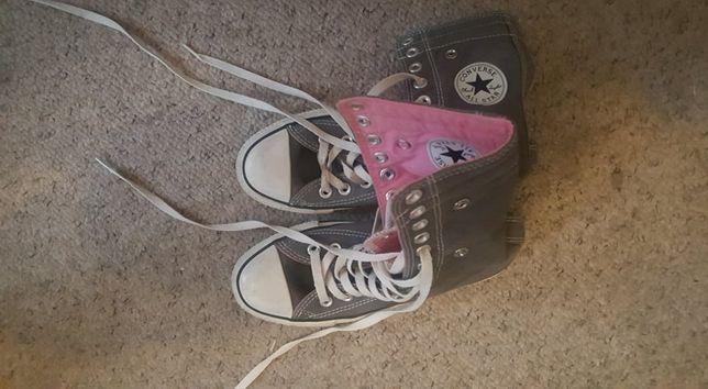 Converse- wysokie trampki 36,5 cm