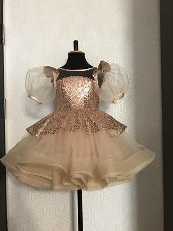 4-5 лет платье нарядное пышное на девочку 4-5 лет