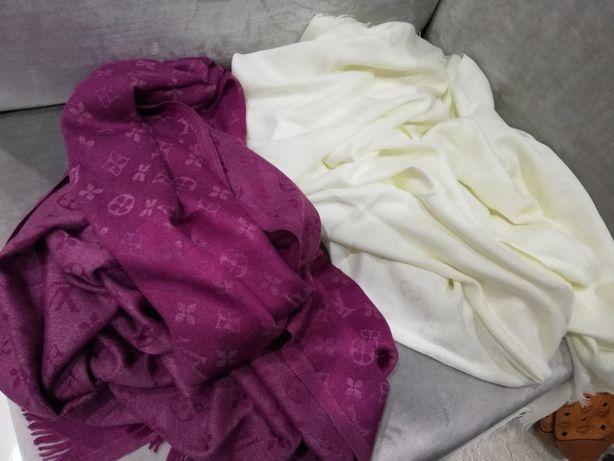 Piękna chusta szal Louis Vuitton monogram kolory wymiar 180x70 kolory