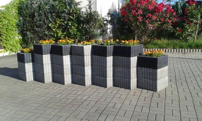K0 Donice betonowe duże każdy kolor do ogrodu - transport w cenie!