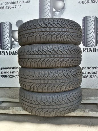 Шины б/у ЗИМА 195/65 R15 SEMPERIT Master-Grip 2 резина 7 мм 205/60