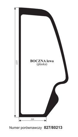 szyba boczna bok JCB 528 / 530 / 532 533 ładowarka teleskopowa ACX257