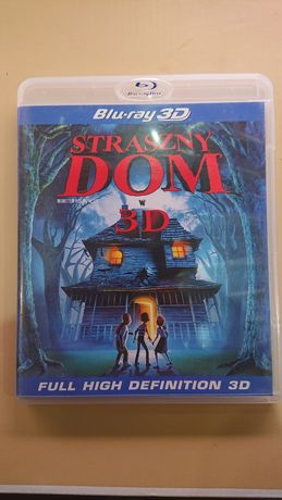 Straszny Dom 3D Blu-ray BD najtaniej