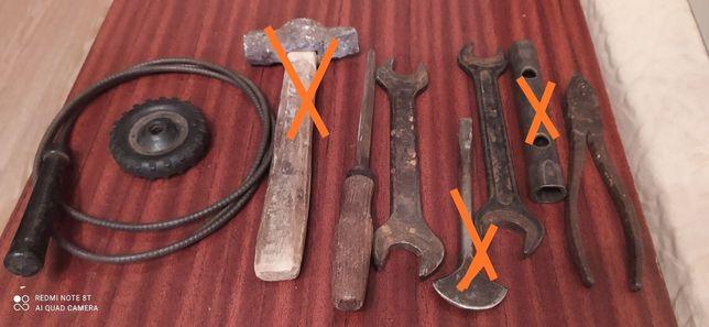 Пласкогупці, ключ на 22 і 24, на 17,19,кран новий, напільнік, змеевик