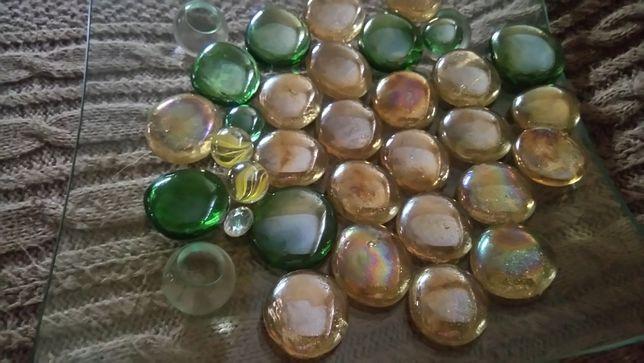 Декор стеклянные камни