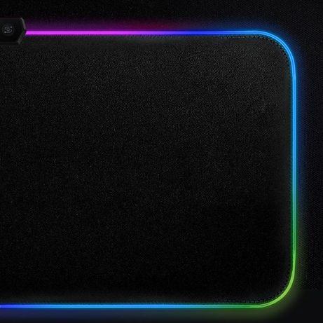 Podkładka świecąca gamingowa RGB 90x40 nowa