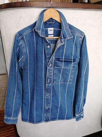 Katana jeansowa Zara