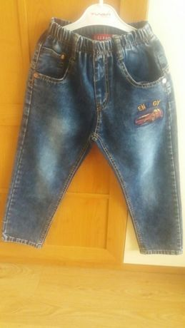 Spodnie jeansowe chłopięce roz.122 Stan bdb