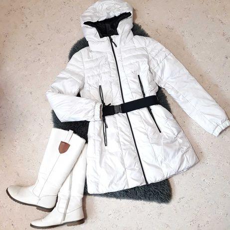 Пуховик, пуховое пальто ф-мы Snowimage р. 34, S в идеальном состоянии