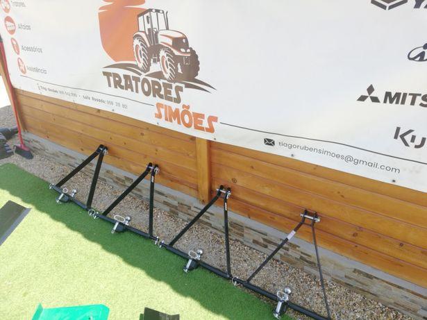 Bola reboque + engate atrelado para tractor
