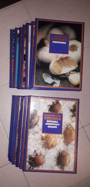 O Mundo da Cozinha (Ediclube) 14 volumes (Completo)