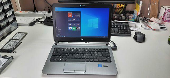 "Laptop HP 430 G2 13.3"" 120ssd 4gb ram, nowa bateria Win 10!"