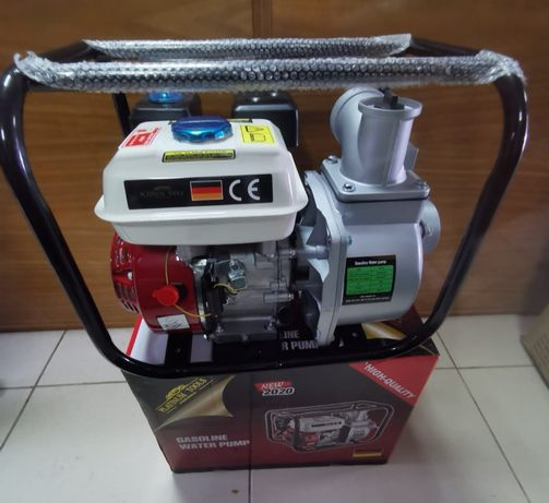 Moto Bomba de Agua Nova de 3 Polgadas com Motor a 4 Tempos.