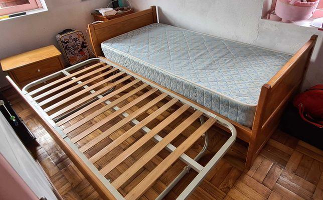 Vendo cama Solteiro dupla