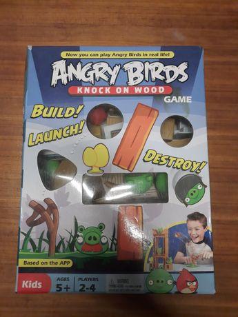 Angry birds knock on wood, gra zręcznościową