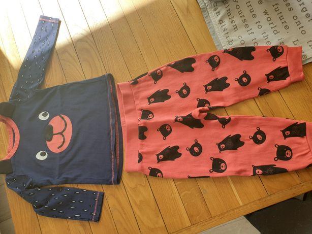 Komplet 86 bluzka+spodnie Elefun Lupilu