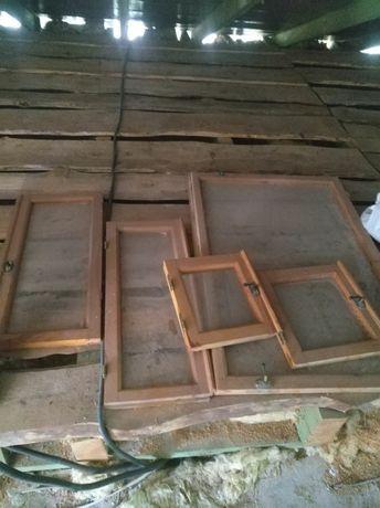 Балконный блок. Окно деревянное