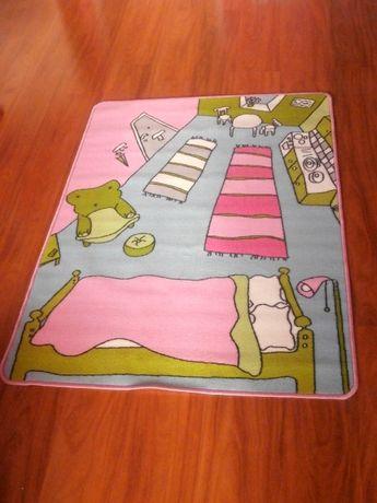 Ikea dywan Rummet pokoik dziecięcy dla dzieci