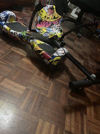 Hoverboard mais kart