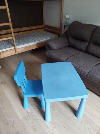 Стол и стул мамут  Ikea mammut