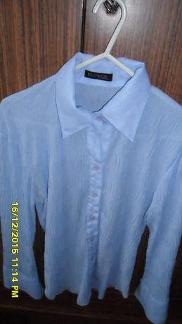 Elegancka niebieska koszula