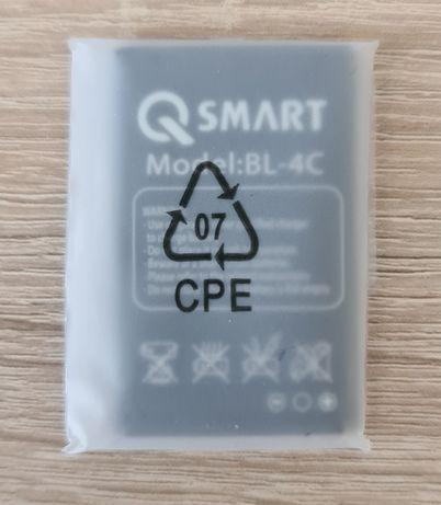 nowa bateria komórkowa QSMART BL-4C