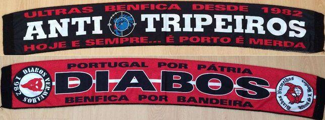 Cachecol Benfica Diabos Vermelhos