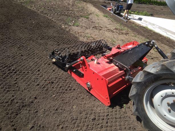 Usługi glebogryzarka separacyjna zakładanie trawników MAZOWIECKIE WAWA