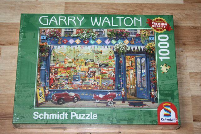 Puzzle Schmidt 1000 Sklep z zabawkami Garry Walton NOWE w folii
