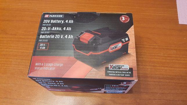 Akumulator bateria PARKSIDE 4Ah 20V nowe