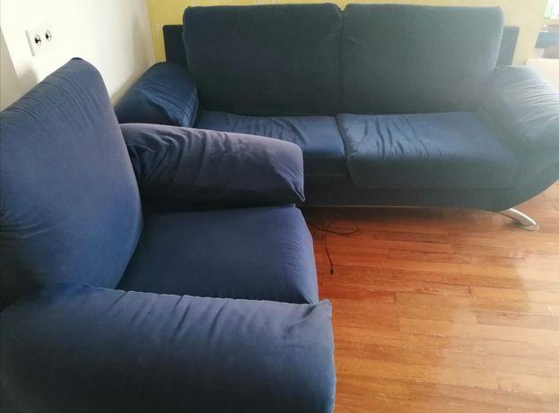 1 sofá grande e 2 dois pequenos preço na descrição