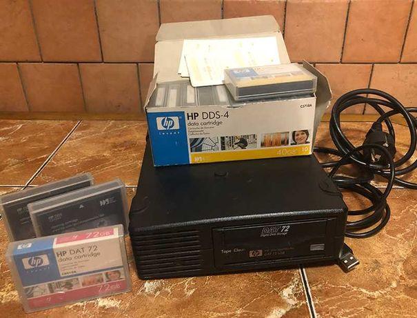 Стример HP StorageWorks DAT 72 USB для резервного копирования